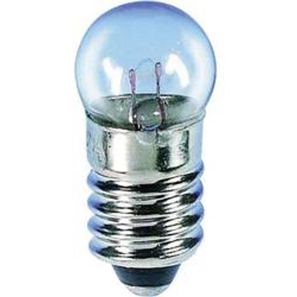 Barthelme 00643530 Kugellampe, Fahrradlampe 3.50V 1.05W Klar 1St