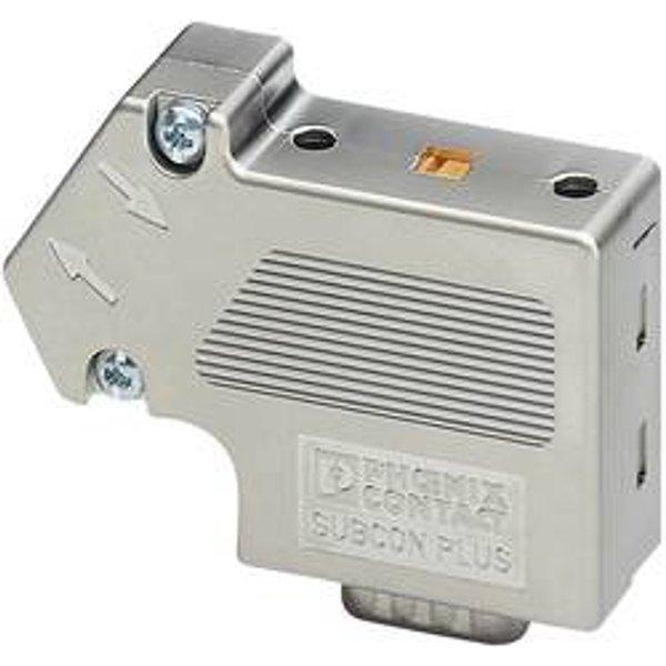 Phoenix Contact 2708245 Sensor-/Aktor-Datensteckverbinder Stecker, gewinkelt Polzahl: 9 1St.