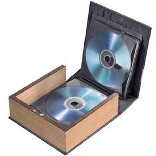 HAMA Boîtier pour 28 CD/DVD/BD (78385)
