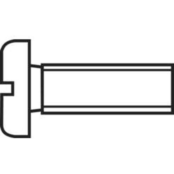 Vis cylindrique TOOLCRAFT 815586 100 pc(s) M3 16 mm tête cylindrique plat acier N/A