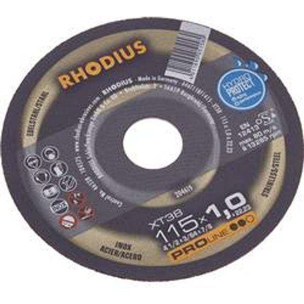 Disque à tronçonner 125 mm Rhodius FT38 TOP 125 X 1.0 X 22.2 mm