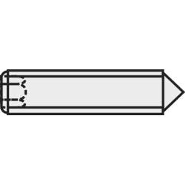 Vis sans tête N/A ISO 4027 TOOLCRAFT 827337 M3 10 mm acier 20 pc(s)
