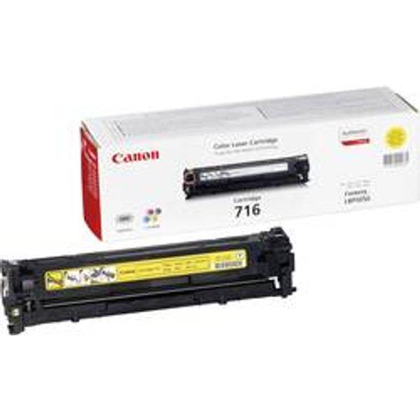 Toner d'origine Canon 716 Y jaune (1977B002)
