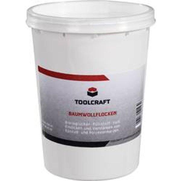 TOOLCRAFT Baumwollflocken 886566 500 ml