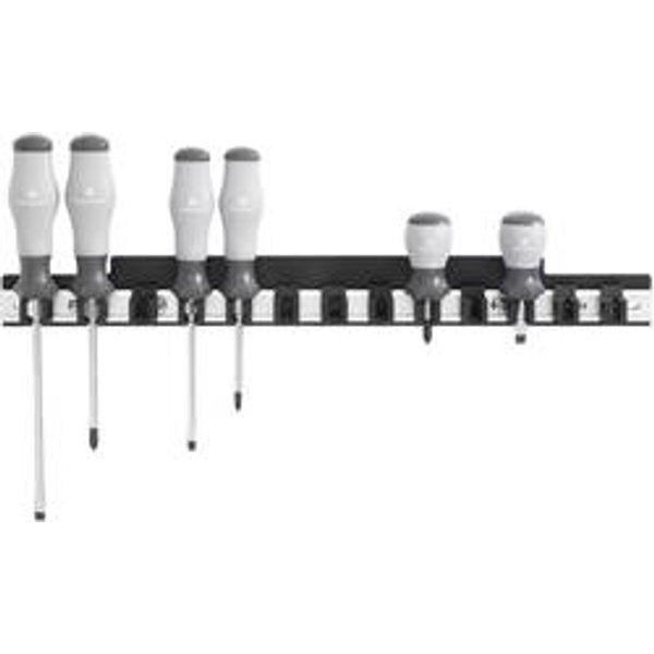 TOOLCRAFT 88 68 87 Alu-Schraubendreherleiste (L x B) 435mm x 48mm