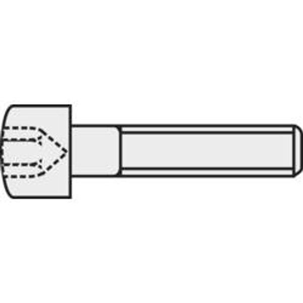 Vis cylindrique TOOLCRAFT 888025 1 pc(s) M2 5 mm tête cylindrique 6 pans intérieurs acier N/A