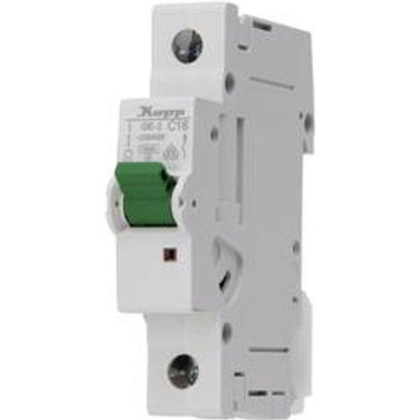 Disjoncteur Kopp 721601005 monophasé 16 A 400 V 1 pc(s)