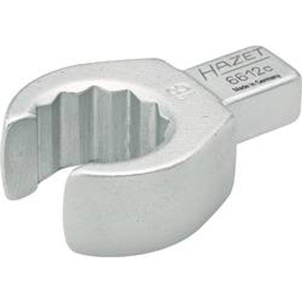 Attache male polygonale ouverte/carré 13mm 9x12mm Hazet