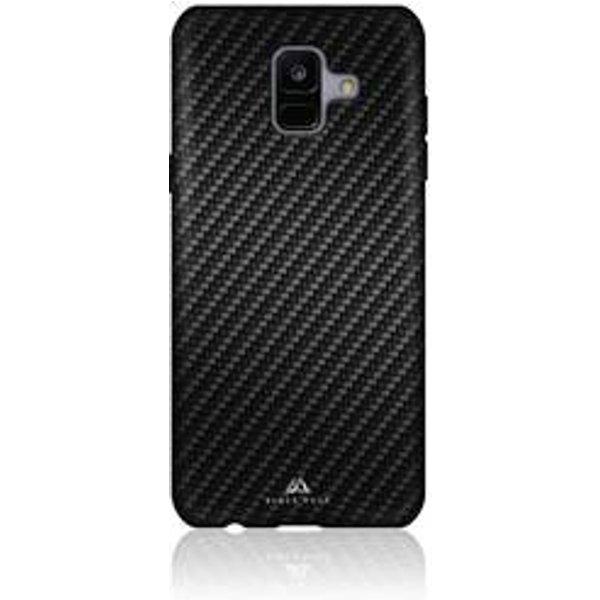 Black Rock Flex Carbon Coque arrière Galaxy A6 (2018) noir