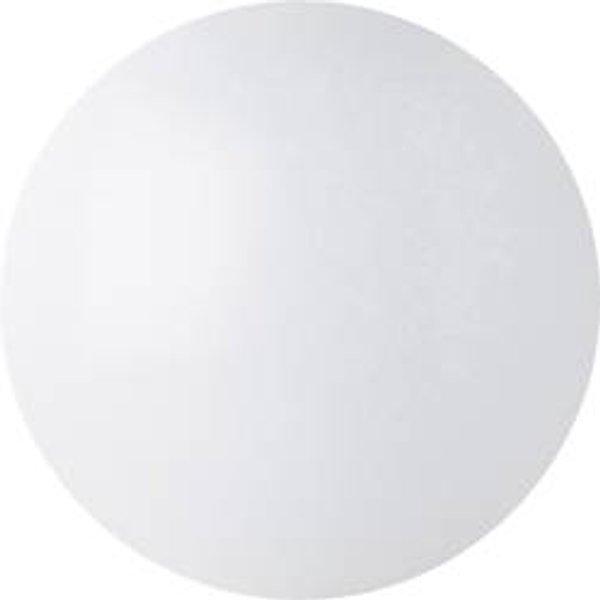 Plafonnier LED pour salle de bain blanc chaud Megaman MM77107 Renzo 31.5 W blanc