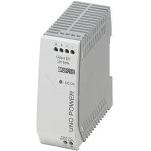 Phoenix Contact 2902999 UNO-PS/1AC DIN Rail Power Supply 12V DC 4