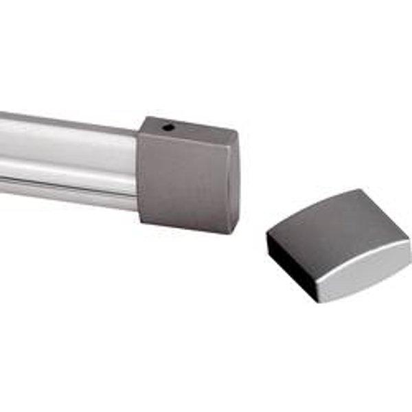Capuchon d'extrémité pour rails HT gris