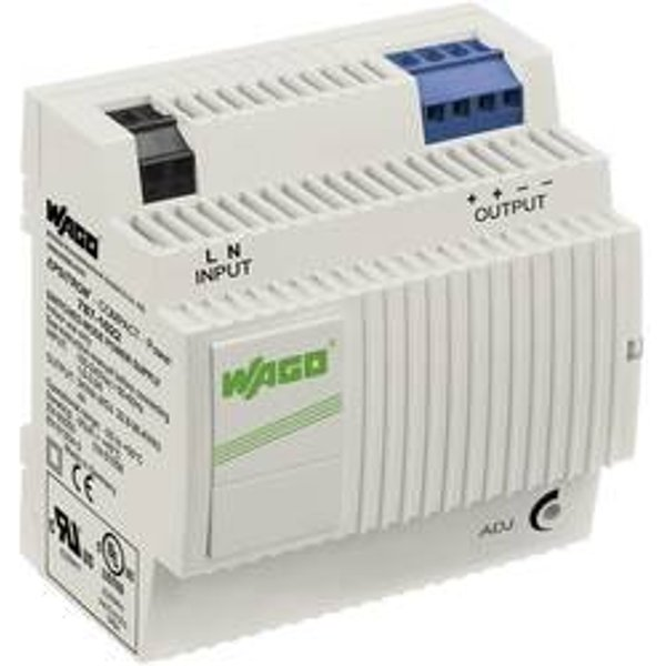 Alimentation rail DIN WAGO EPSITRON® COMPACT POWER 787-1022 26.4 V/DC 4 A 96 W 2 x
