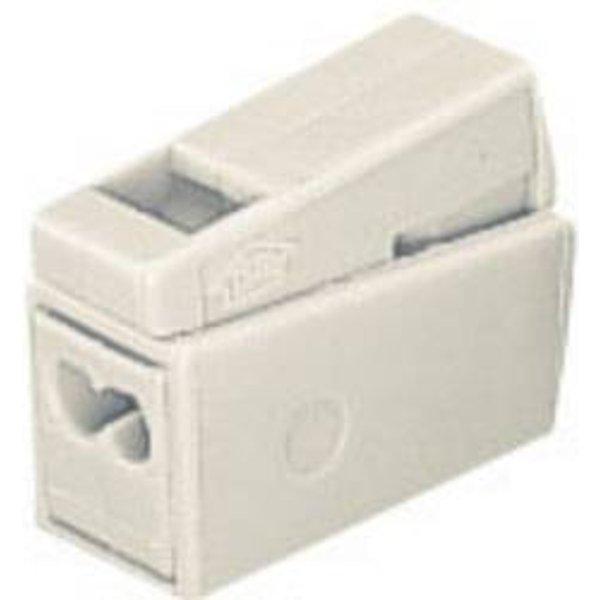 Borne pour luminaires WAGO 51197332 flexible: 0.5-2.5 mm² rigide: 1-2.5 mm² Nombre total de pôles: 3 blanc 15 pc(s)