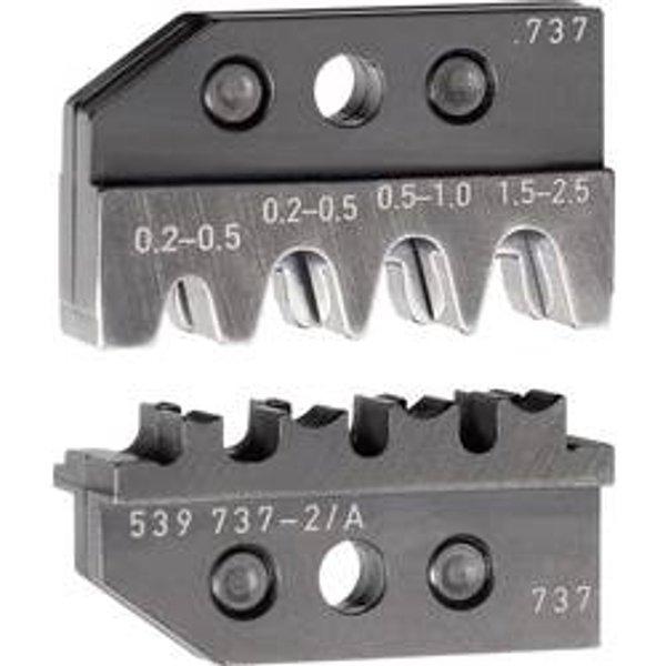 Matrice pour pince à sertir 0539635-1 TE Connectivity 539737-2 539737-2 1 pc(s)