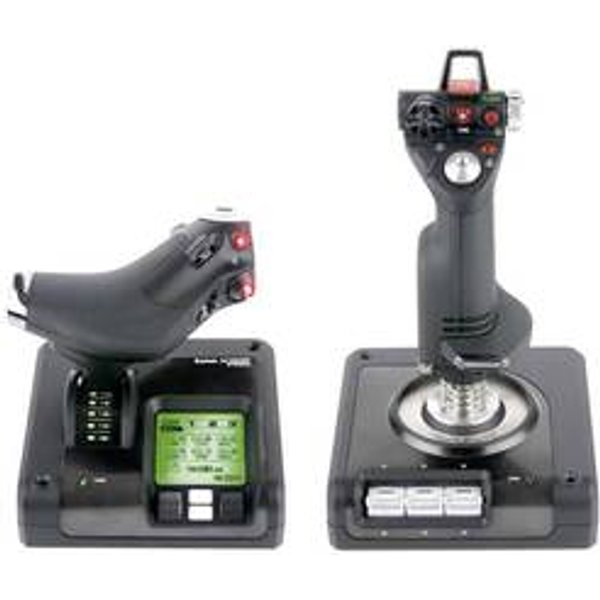 SAITEK by LOGITECH X52 Pro Flight Control System