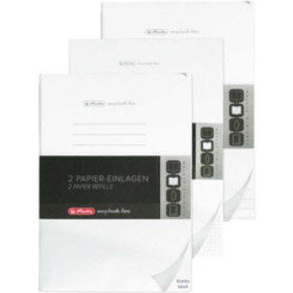 Set carta PELIKAN inserto A4 2x 40 fogli a scacchiera
