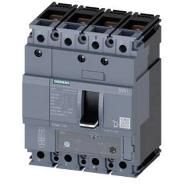 Siemens 3VA1116-5EF42-0JH0 Leistungsschalter 1 St. 3 Wechsler Einstellbereich (Strom): 112 - 160A Sc