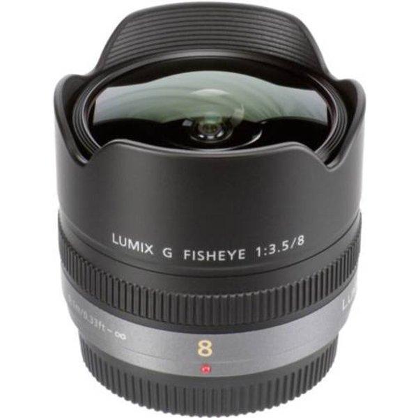 Fisheye Lens 180° Angle View F3.5 Aperture (H-F008E)