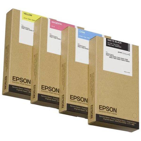 Epson T6112 Cyan Ink Cartridge (Original)