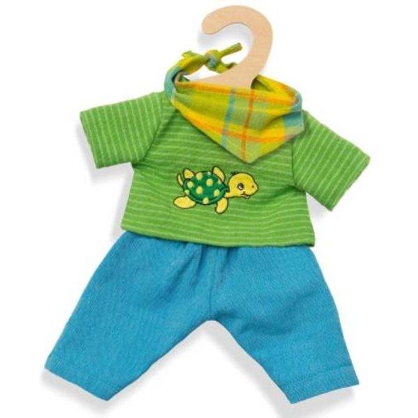 Heless ensemble de poupée Max 3 pièces bleu/vert 35-45 cm