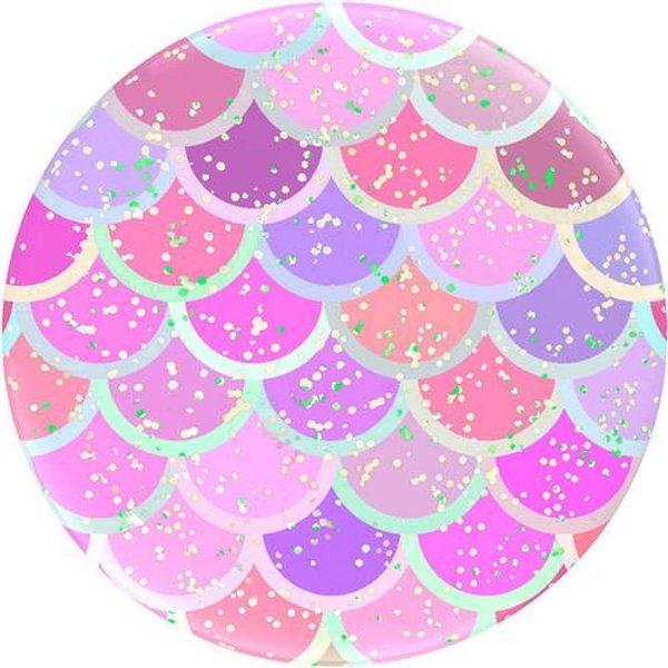POPSOCKETS Glitter Mermaid Support pour téléphone portable rose, rose, lilas