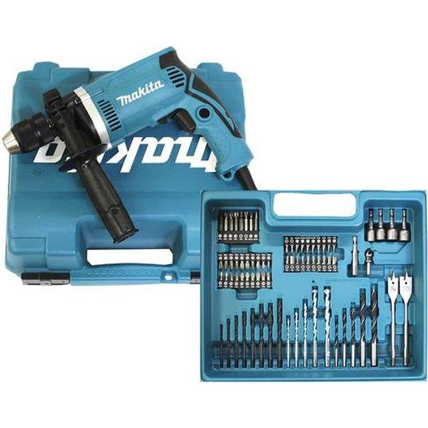 Makita HP1631KX3 - Schlagbohrhammer - 710 W - 1-stufig - Bohrfutterschl