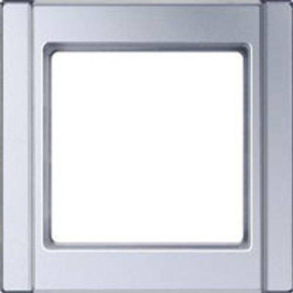 Jung 1fach Rahmen Aluminium A581AL