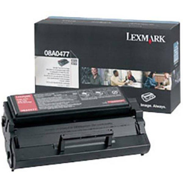 Lexmark Black Toner Cartridge 08A0477