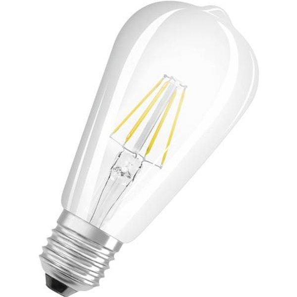OSRAM rustic LED bulb E27 6.5W ST64 827