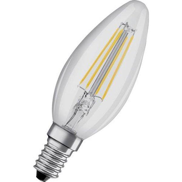 OSRAM candle LED bulb E14 4W Classic B 2700K clear