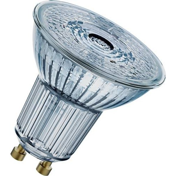OSRAM glass LED reflector GU10 3.7 W 927 36° dim