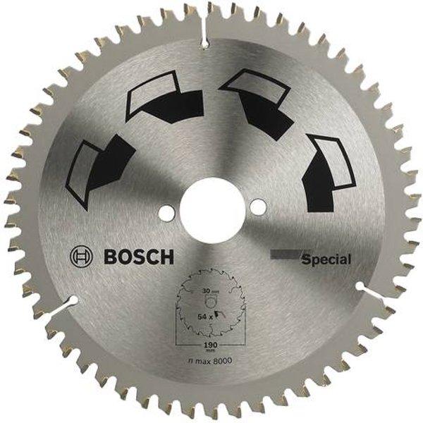 Lame de scie circulaire spécial Bosch 2609256892 190 mm