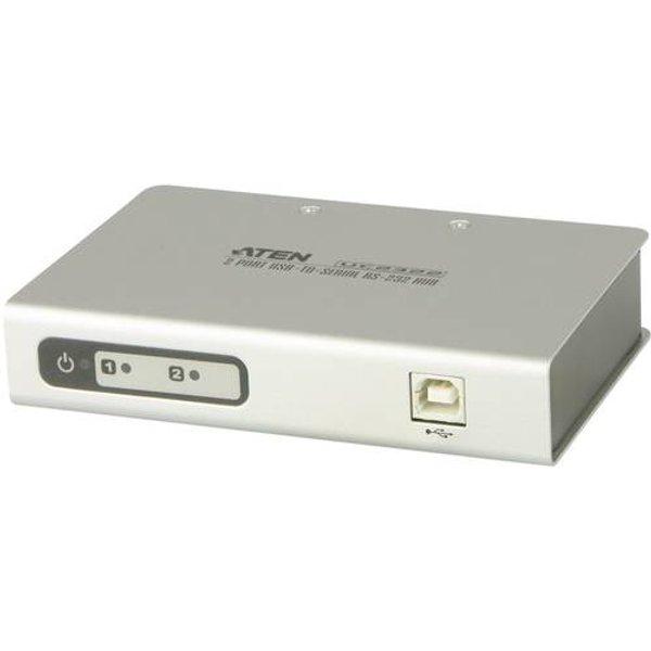 Hub sériel ATEN UC2322-AT 2 ports avec convertisseur pour USB - sériel RS-232 blanc 1 pc(s)