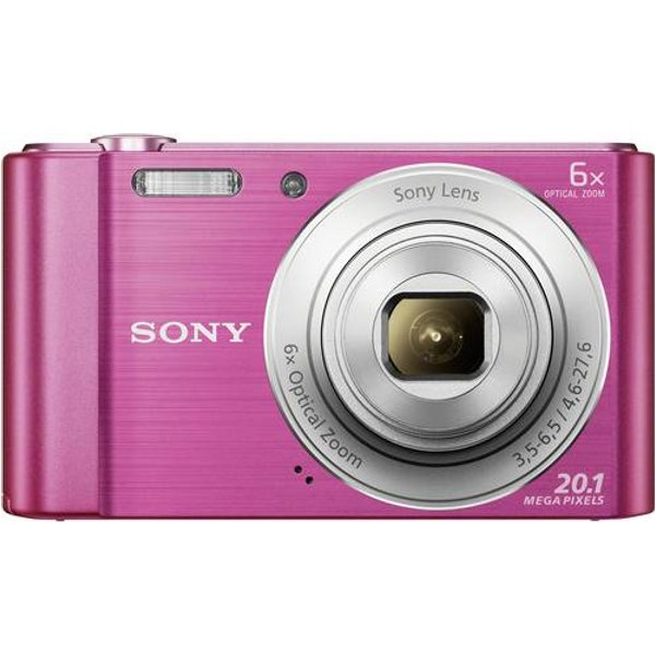 Sony »DSC-W810« Kompaktkamera (20, 1 MP, 6x opt. Zoom)