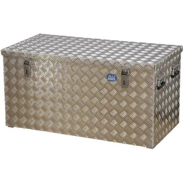 Coffre en tôle à damier 250 l Alutec 41250 aluminium (L x l x h) 1022 x 525 x 520 mm 1 pc(s)