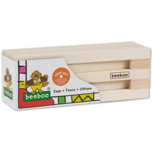 Toy Company - Zaun Set: bestehend aus 11 Holzteilen