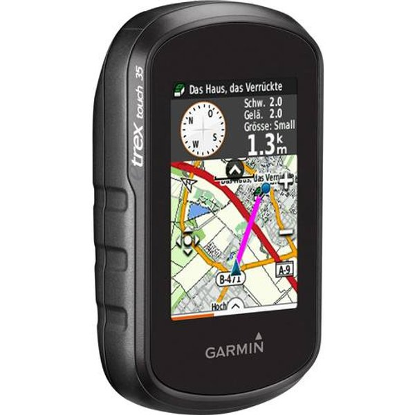 Garmin eTrex Touch 35 Outdoor GPS - Black/Grey   GPS Units