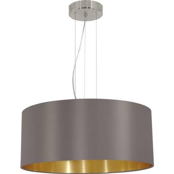 Lampe pendante couleur cappucino EGLO Maserlo 53 cm
