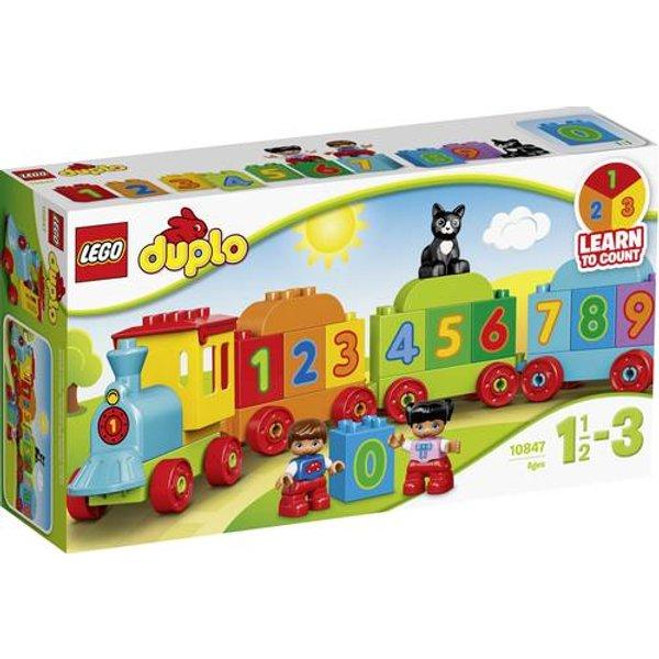 10847 DUPLO Zahlenzug, Konstruktionsspielzeug