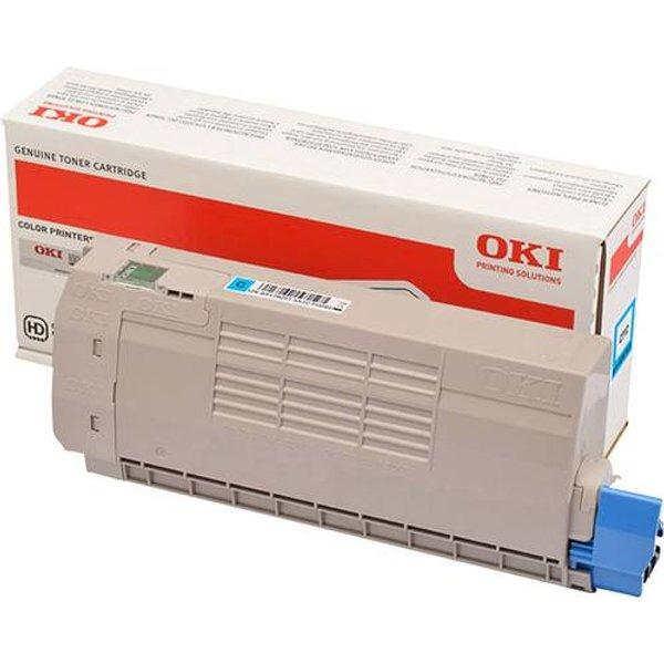 OKI 46507615 Toner cyan original