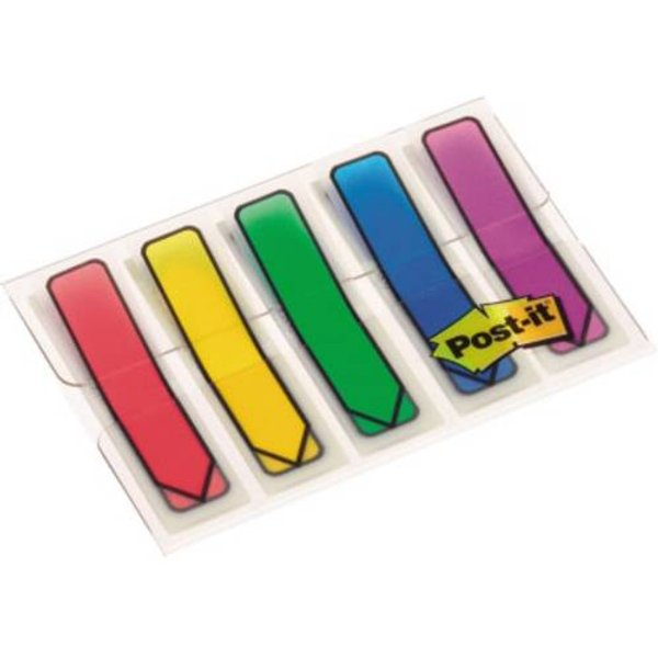 Post-it Index Arrows 5 Pads Assorted Colours