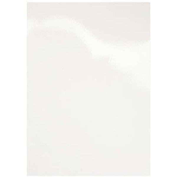 GBC HiGloss Cover A4 CE020071 blanc, 250g 100 pcs