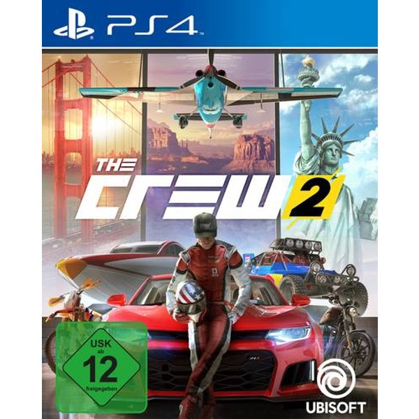 Jeu Playstation 4 The Crew 2 UHF: 12 (300094374)