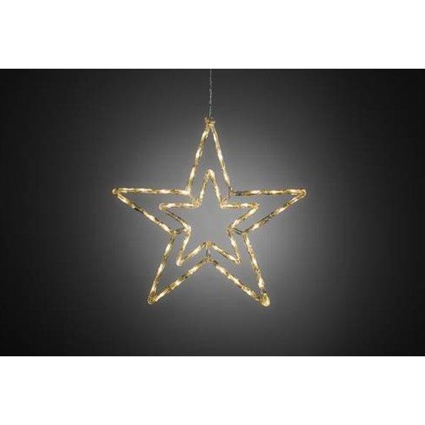 Konstsmide 4471-103 LED-Weichnachtsstern Stern Warm-Weiß LED Warm-Weiß