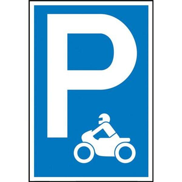 Parkplatzschild Parkplatz Aluminium (B x H) 400mm x 600mm 1St.