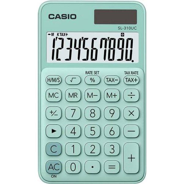 Casio MS 20UC RG Calculatrice de bureau Orange