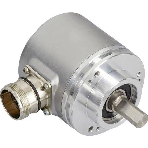 Posital Fraba Absolut Drehgeber 1 St. OCD-S5A1G-0016-CA30-PRP Optisch Klemmflansch 58mm