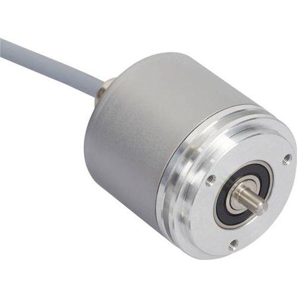 Posital Fraba Absolut Drehgeber 1 St. OCD-S3D1B-1416-S100-2AW Optisch Synchronflansch 58mm