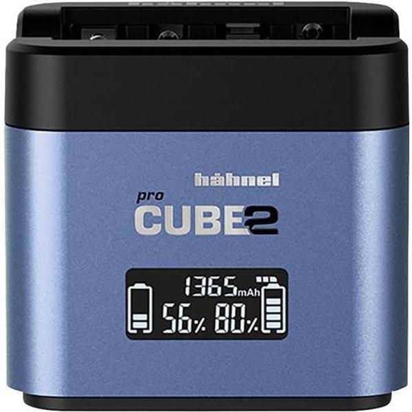 Hähnel Pro Cube 2, Fuji, Panasonic 10005730 Chargeur appareil photo Accu adapté Li-ion, NiMH
